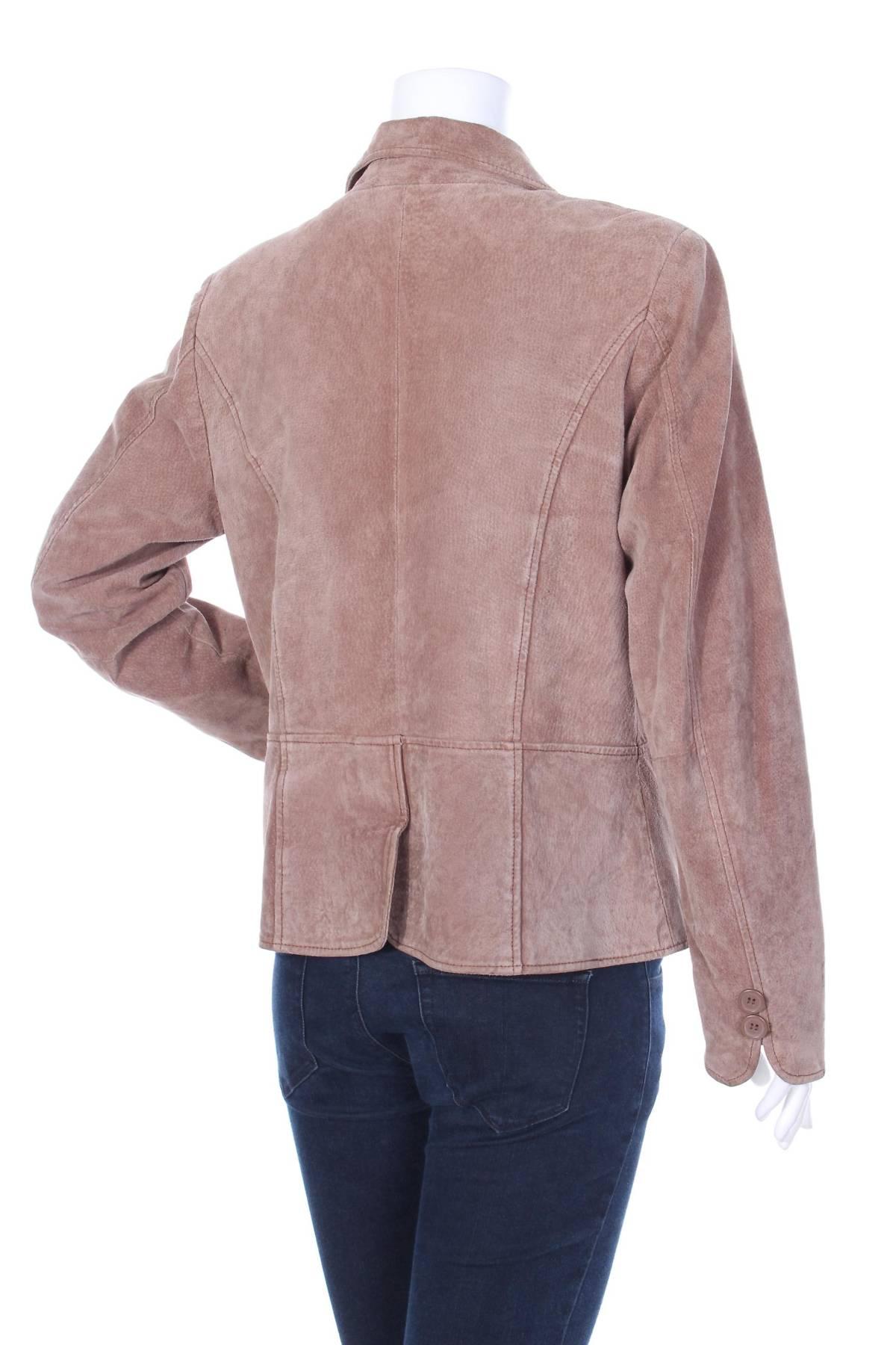 Дамско кожено сако Now3