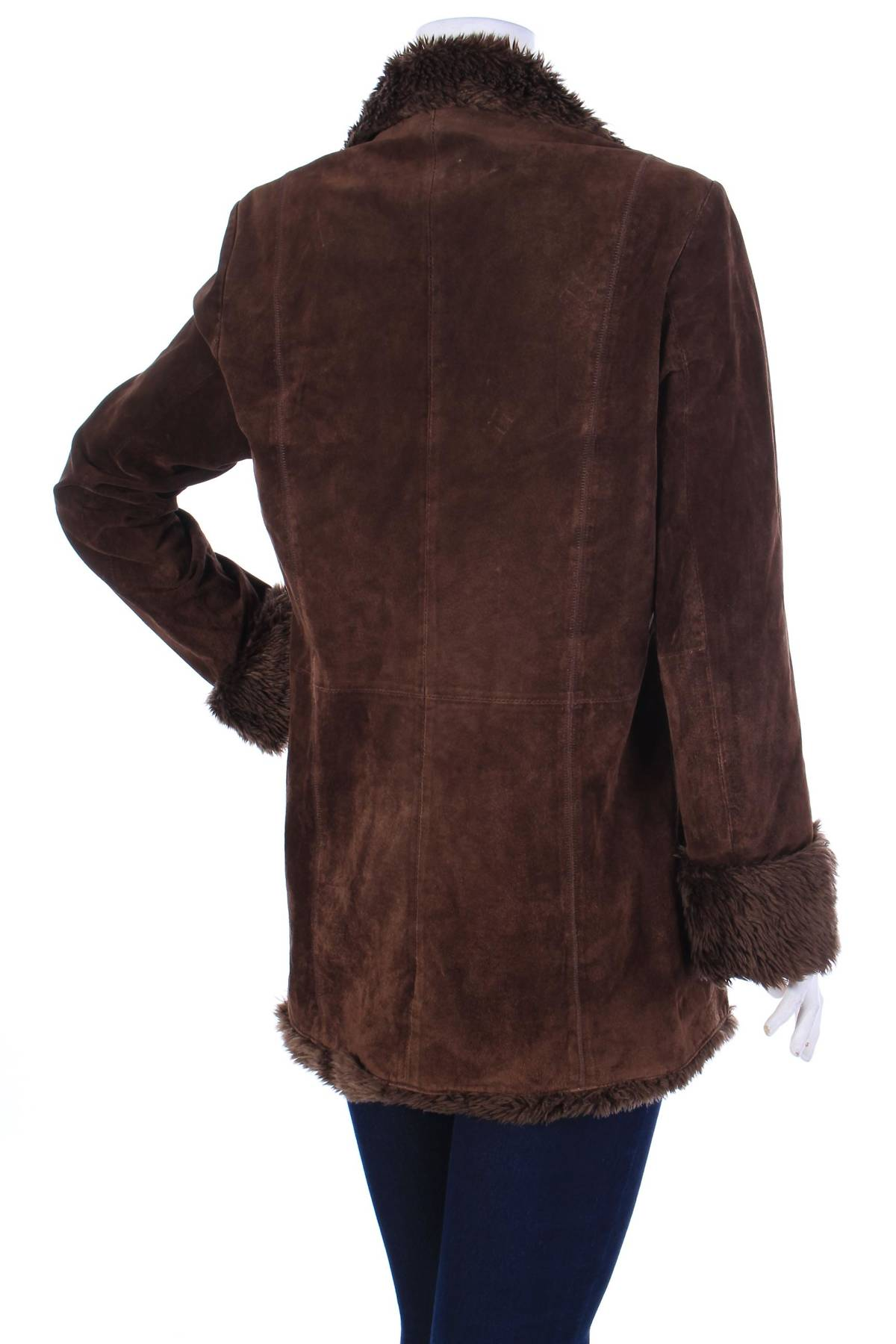 Дамско кожено палто Biaggini1