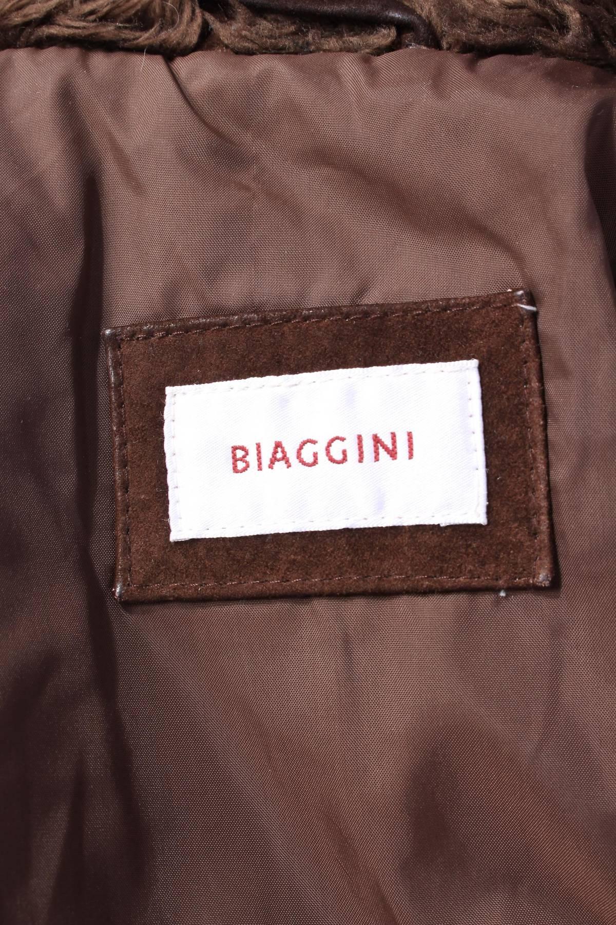 Дамско кожено палто Biaggini2