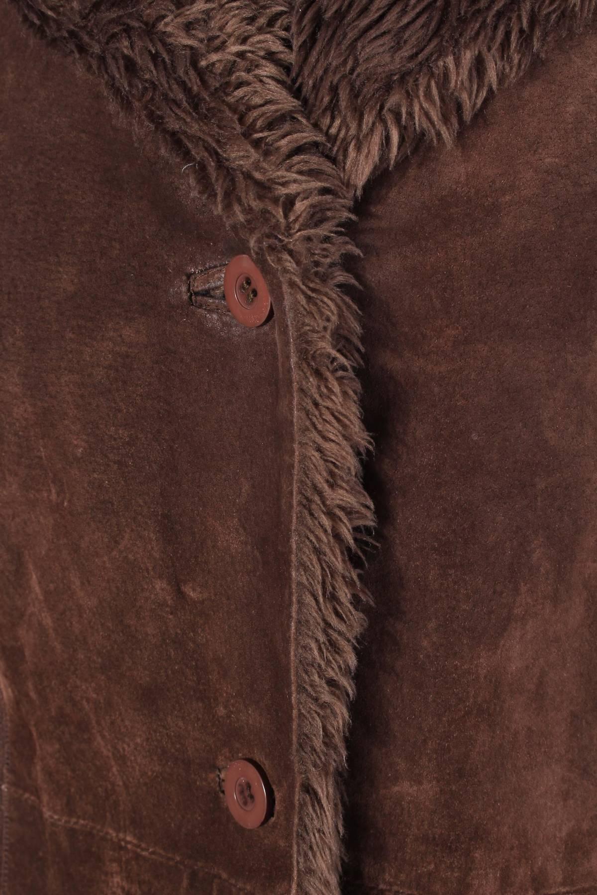 Дамско кожено палто Biaggini5