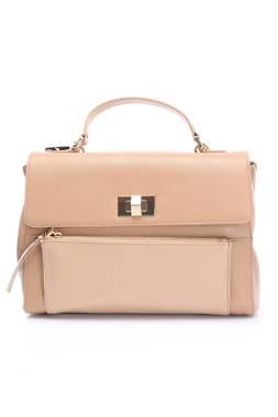 Дамска кожена чанта Pollini1