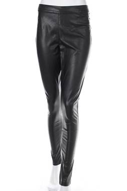Дамски кожен панталон Pieces1