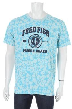 Мъжка тениска A fish named Fred1