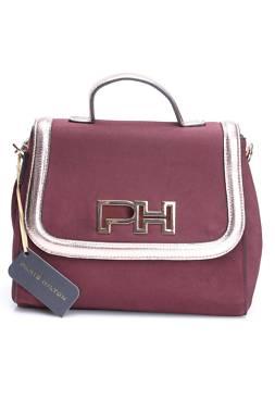 Дамска кожена чанта Paris Hilton1
