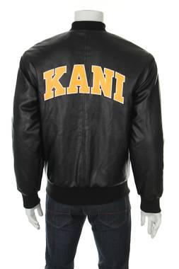 Мъжко кожено яке Karl Kani2