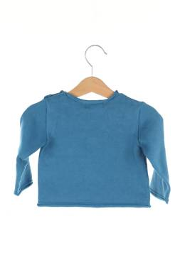 Детски пуловер Bonnet a pompon by Guillermina Baeza2