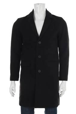 Мъжко палто Process Black1
