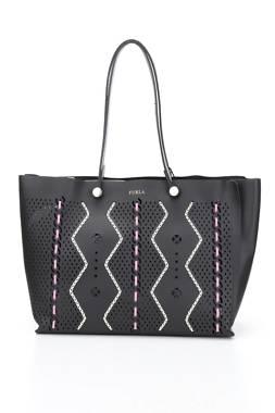Дамска кожена чанта Furla1