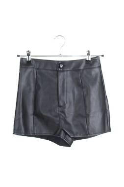 Дамски къс кожен панталон Missguided1