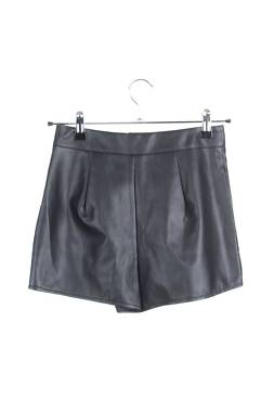 Дамски къс кожен панталон Missguided2