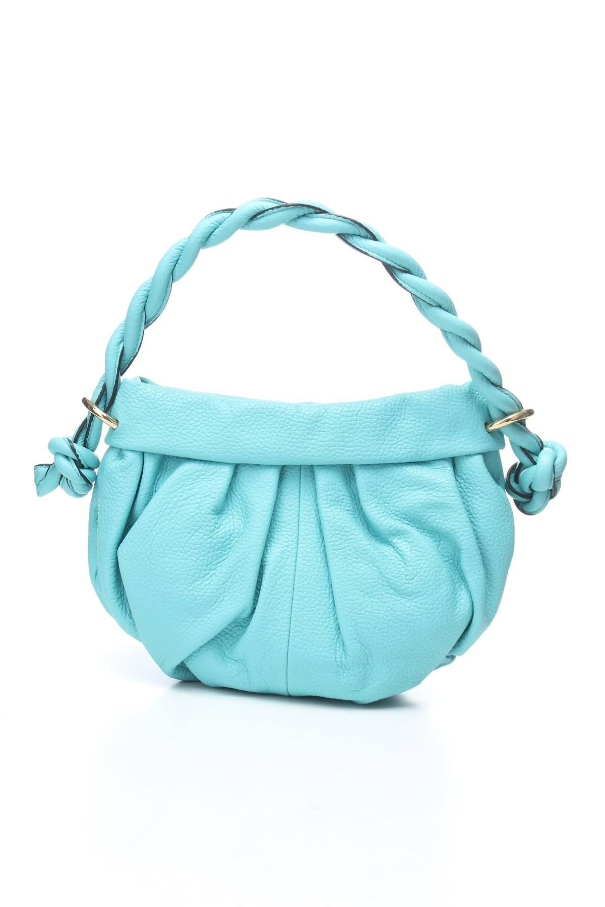 Дамска кожена чанта Lupo Barcelona2