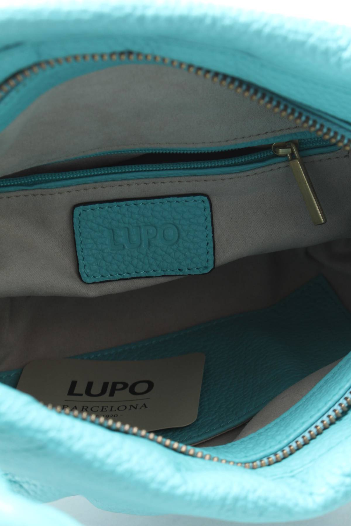 Дамска кожена чанта Lupo Barcelona4