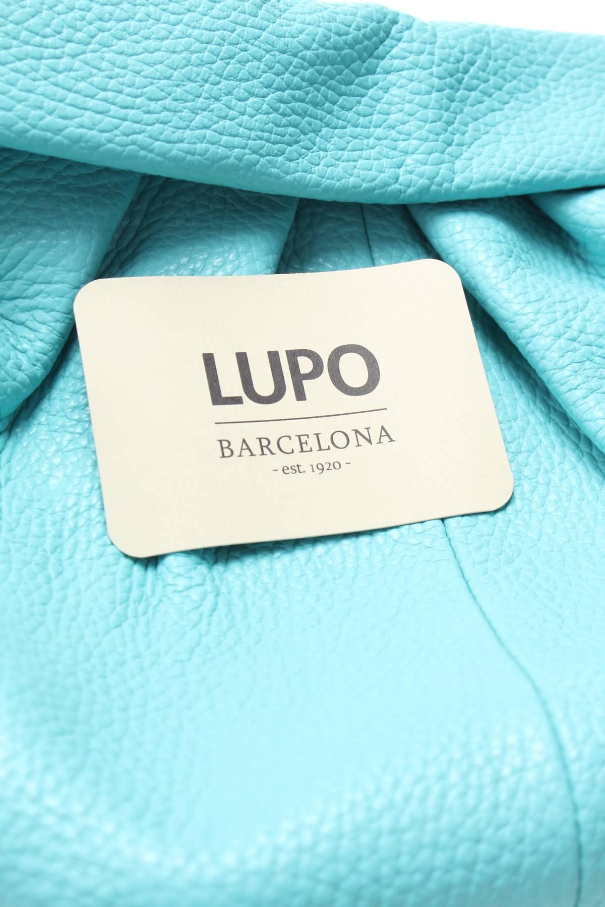 Дамска кожена чанта Lupo Barcelona3